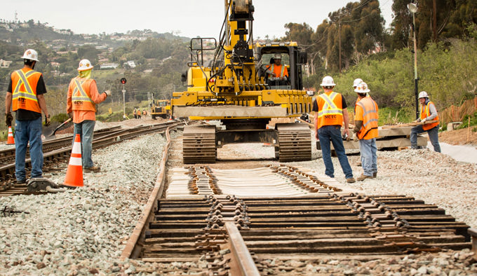 MCTC Rail Line Construction